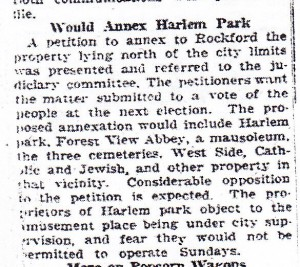 Harlem Park annex