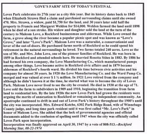 Love's Farm - Loves Park sm