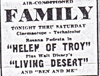 Advertisement, Rockford Morning Star 1956