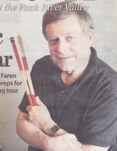 Internationally Known Drummer Johnie Faren, 2011