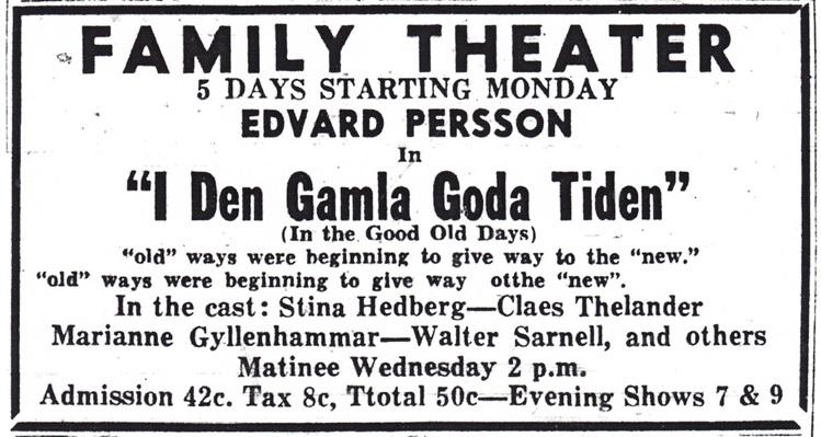 Rockford Morning Star Advertisement, 1946