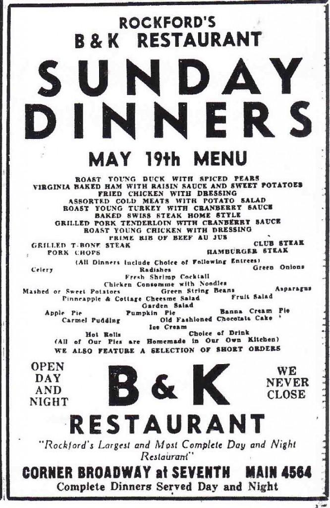 B & K Restaurant