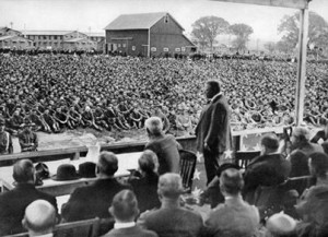 Roosevelt at Camp Grant