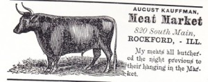 August Kauffman Meat Market