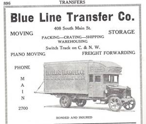 Blue Line Transfer Company, 1930