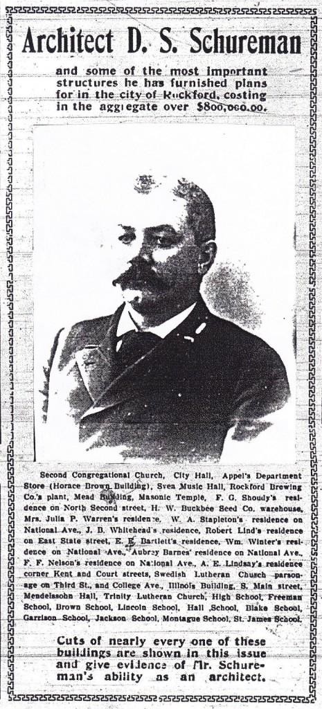 Schureman 1904 list