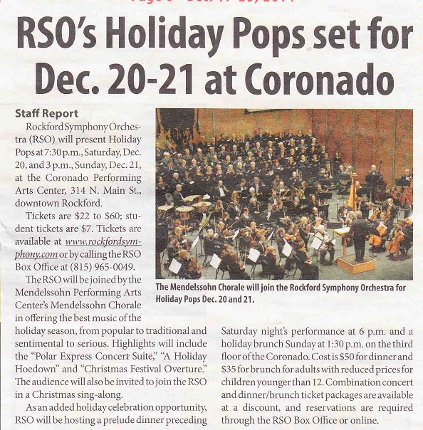 RSP Holiday Pops