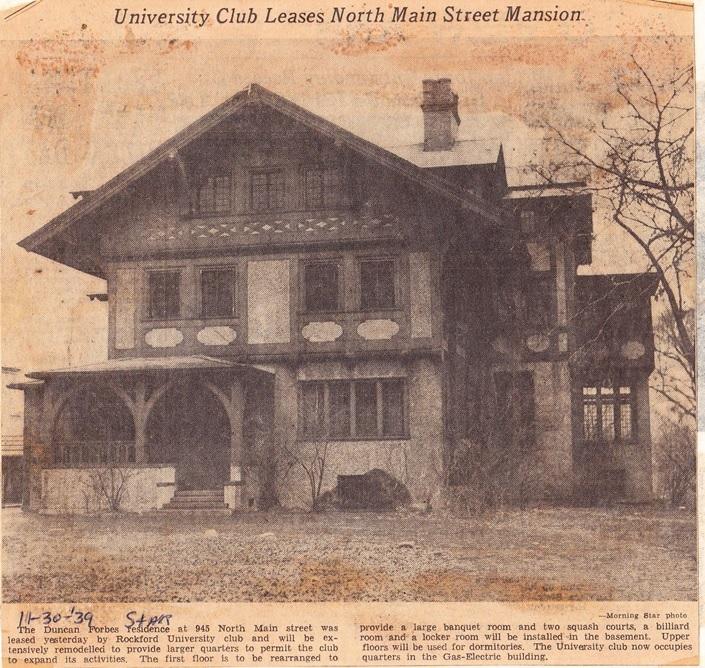 Main St., No., 945 Forbes