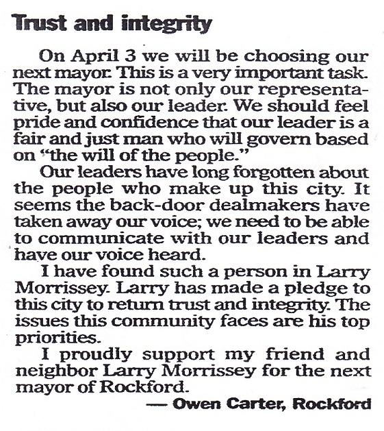 Morrissey, Larry Trust