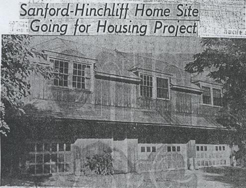 Sanford-Hinchliff Home
