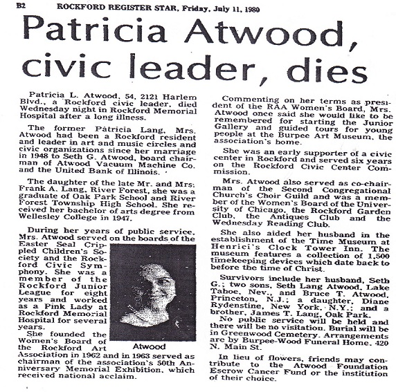 Atwood, Patricia