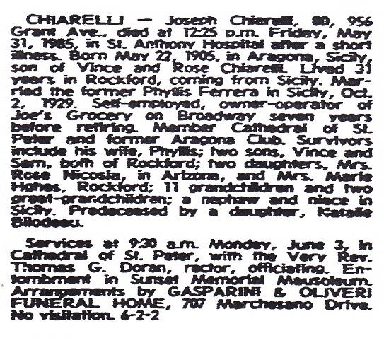 Chiarelli, Joseph 80