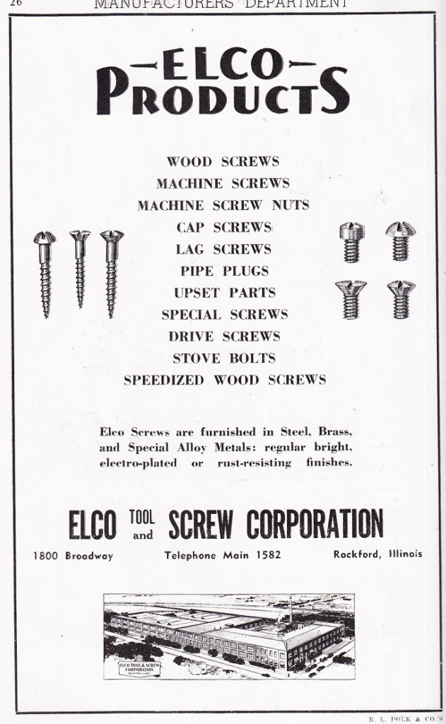 Elco Tool and Screw
