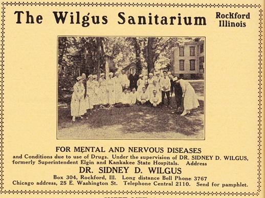 Wilgus Sanitarium, 1921