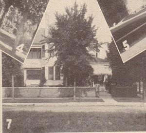 1536 Harlem Boulevard in 1912