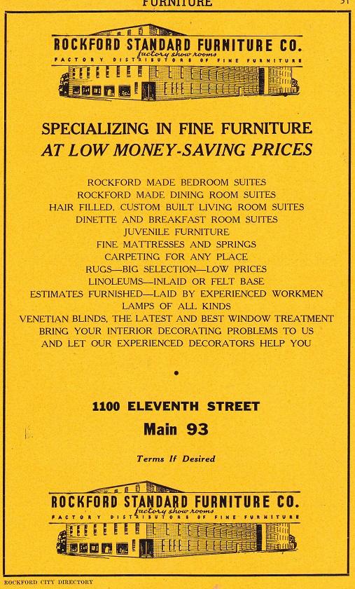 Rockford Standard Furniture 45