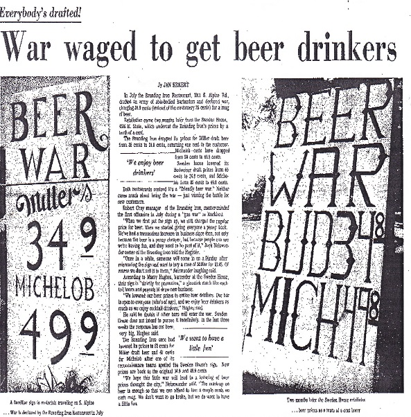 War waged