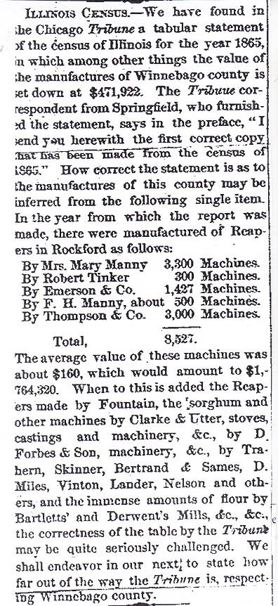 Illinois Census 1855