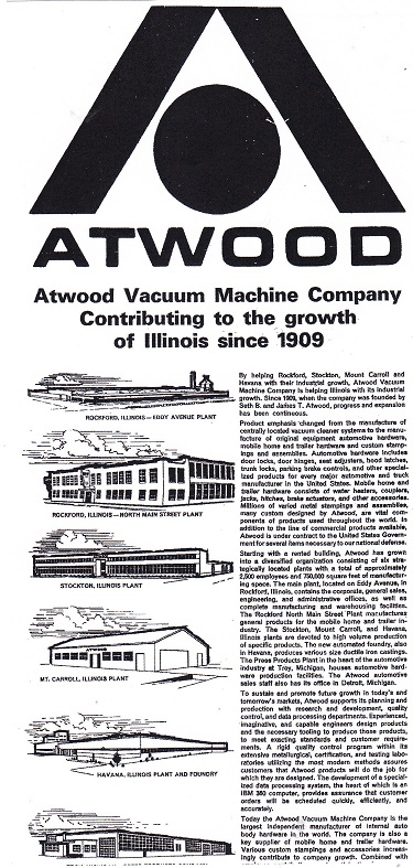 Atwood Vacuum Machine Co 1968 Rpl S Local History