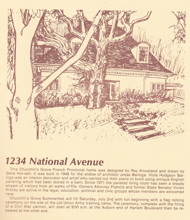National Ave., 1234 Homes