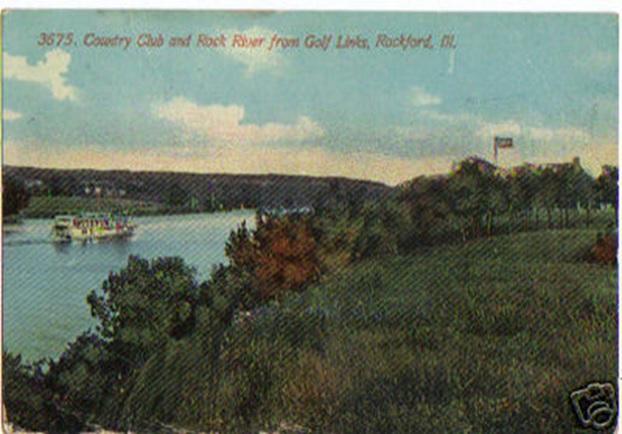 Rockford Country Club postcard