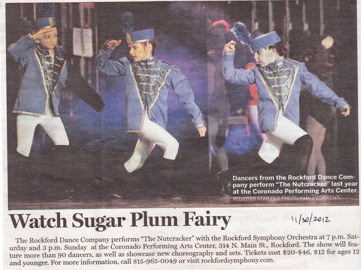 Rockford Dance Co. Sugar Plum Fairy