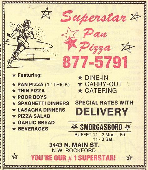 Superstar Pan Pizza