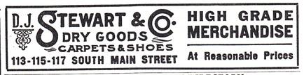D.J. Stewart & Co. High Grade Merchandise