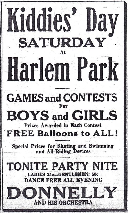 Kiddies Day at Harlem Park