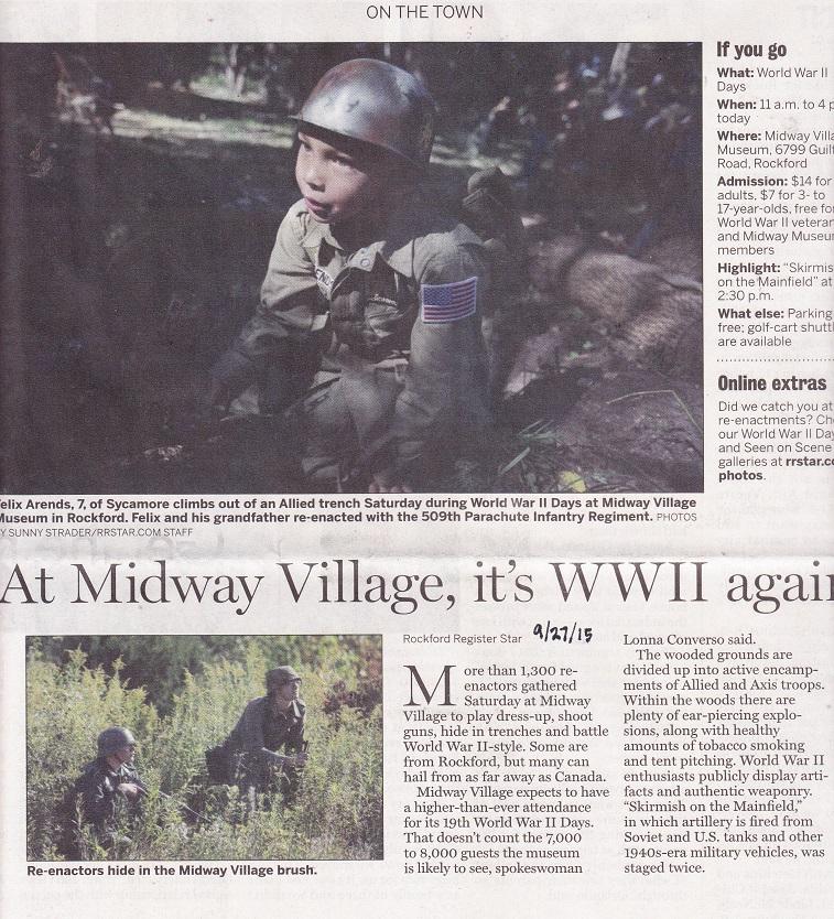 Midway Village 15 WWII