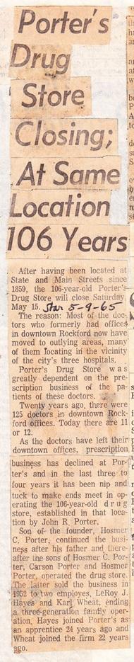 Porter's Drug Store