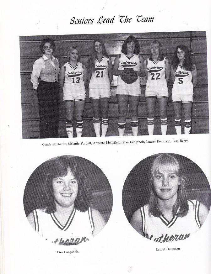 Rockford Lutheran 1982