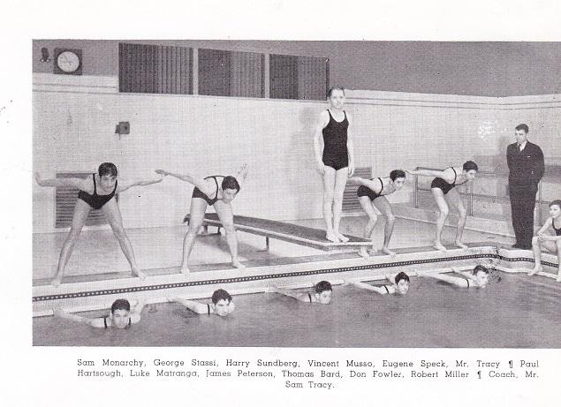 Roosevelt 1937 swim