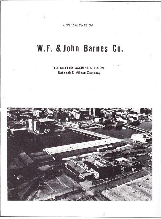 W. F. and John BArnes Co.