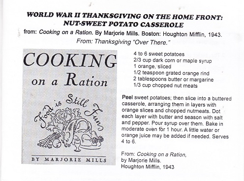 Cooking on a Ration
