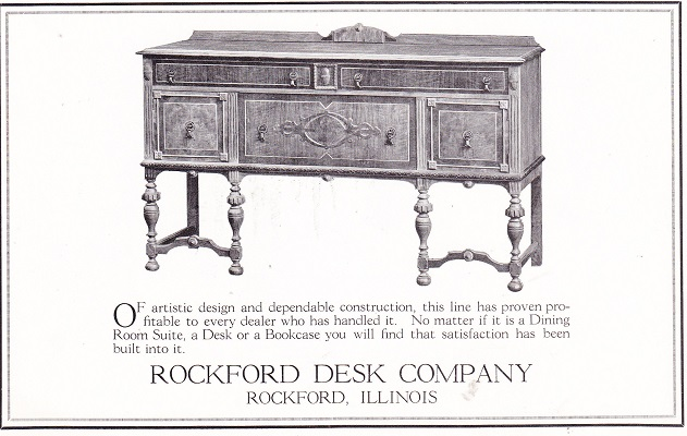 Rockford Desk Co Rpl 39 S Local History