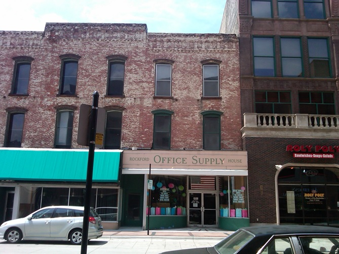 Rockford Office Supply House street View