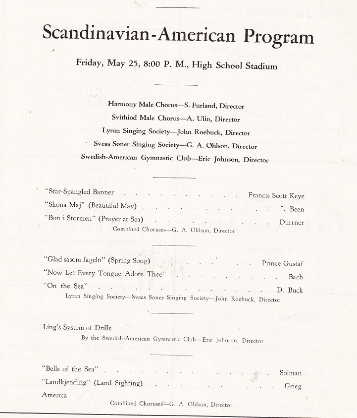 Scandinavian-American Program
