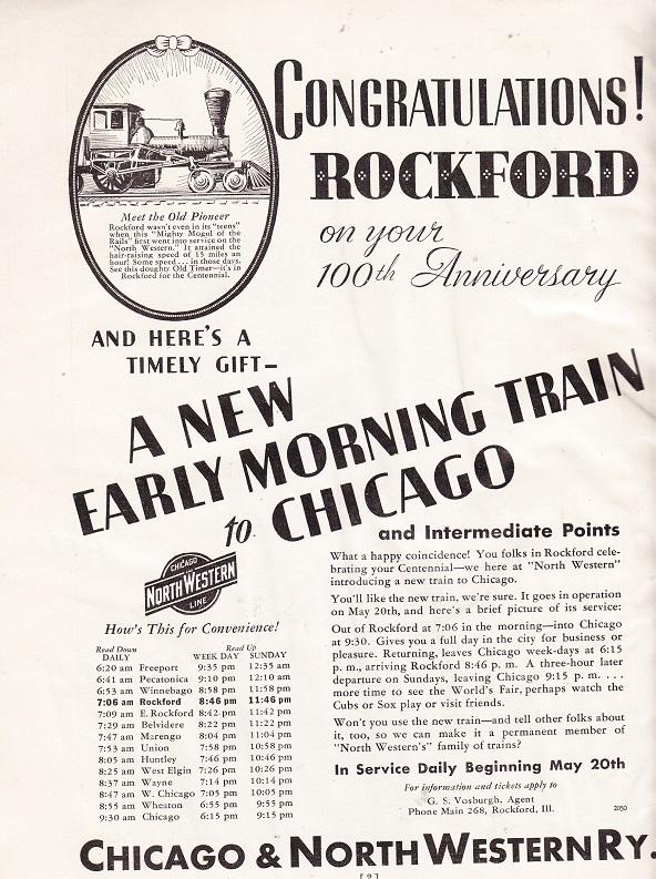 Chicago & Northwestern Railway