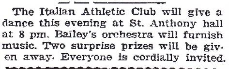 Ital Ath Club 1920