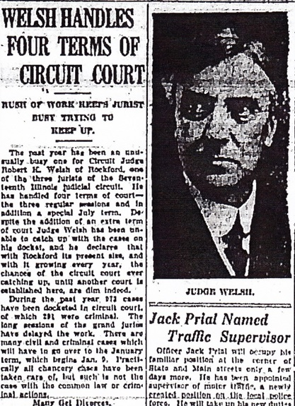 Judge Welsh