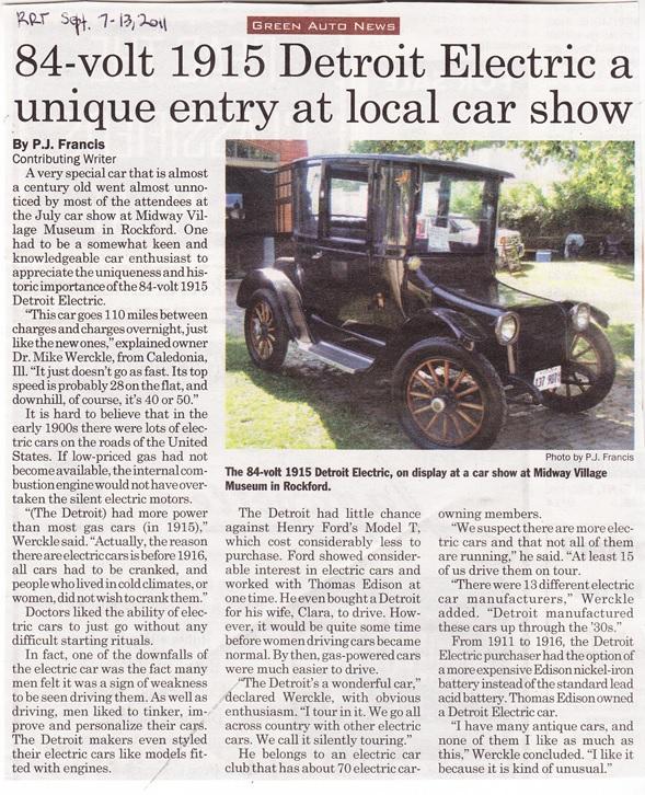 Midway Village Car Show