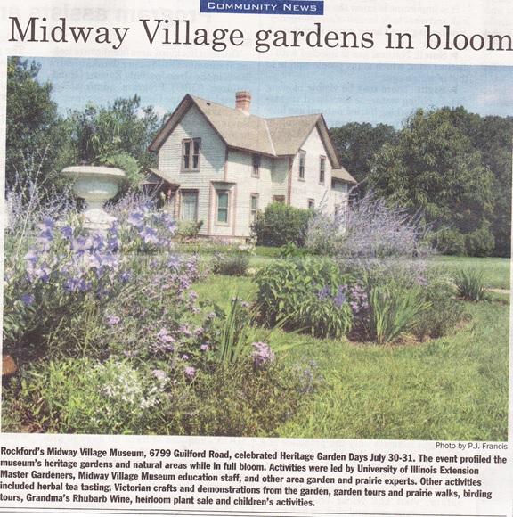 Midway Village Heritage Garden Days