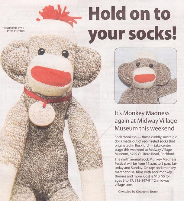 Midway Village Monkey Madness