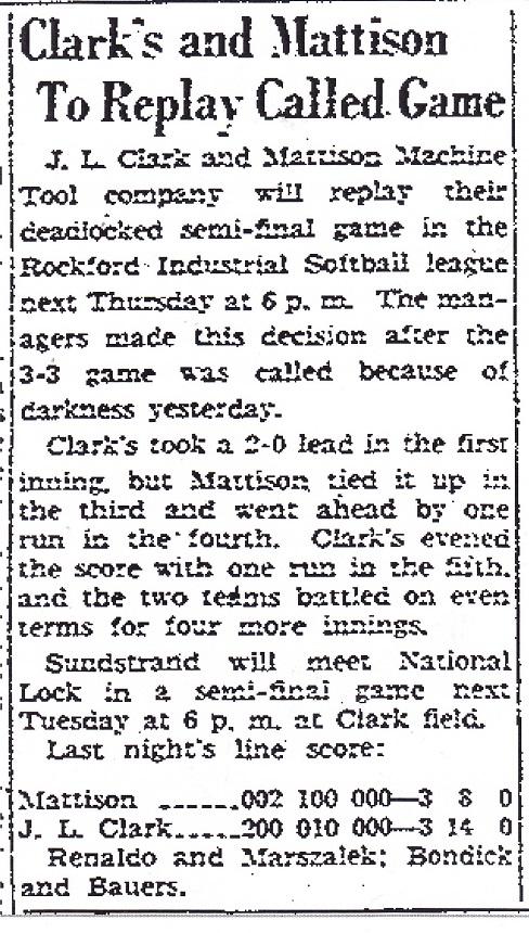 Clarks and Mattison