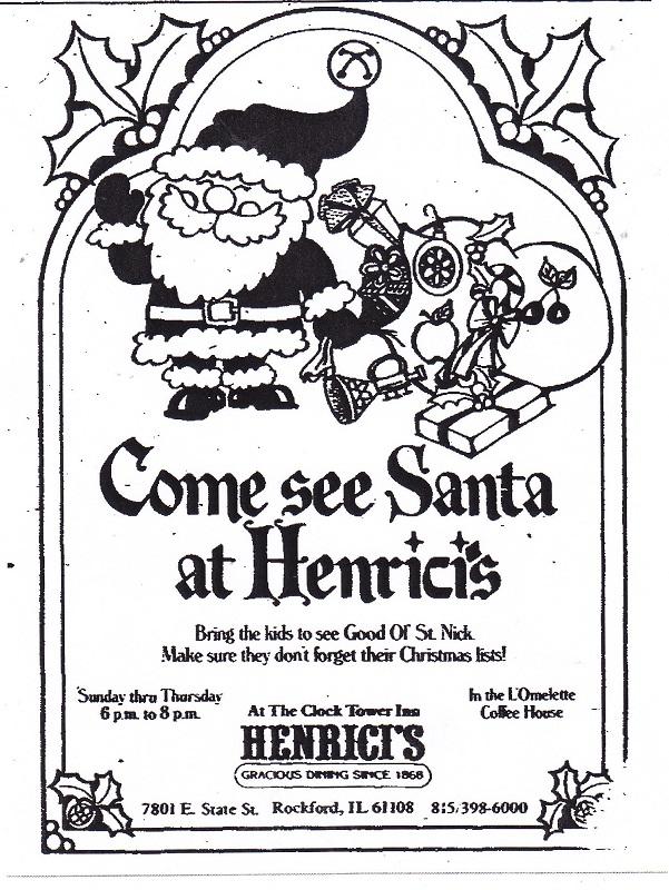 Henrici's Santa