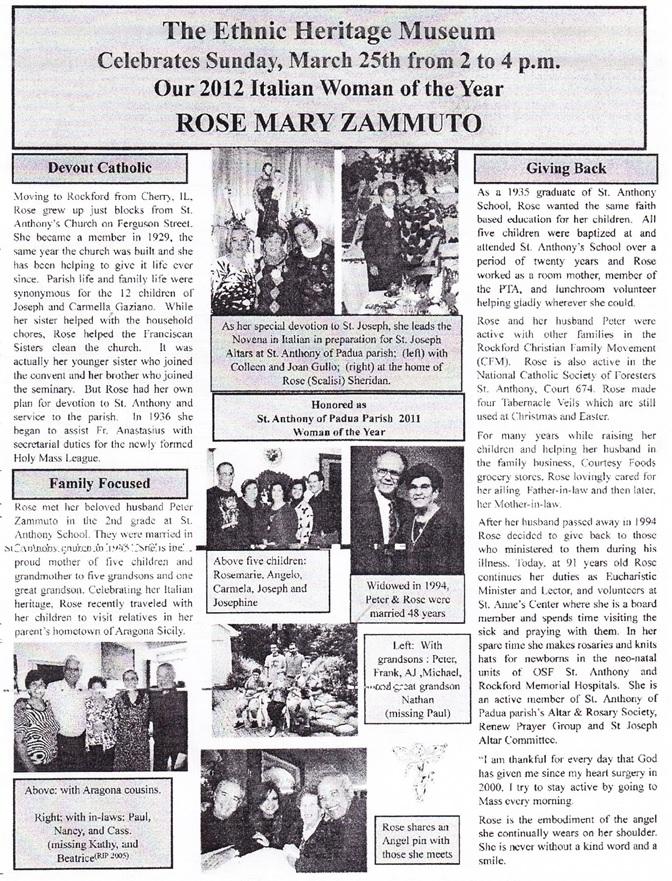 Rose Mary Zammuto