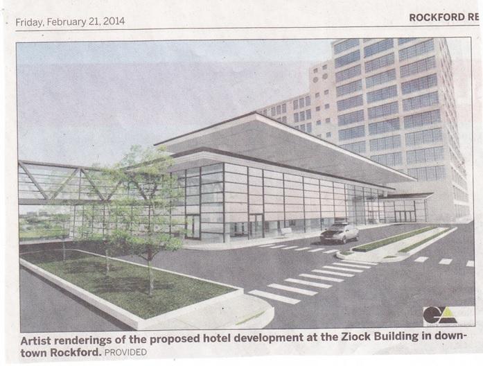 William Ziock Building artist rendering