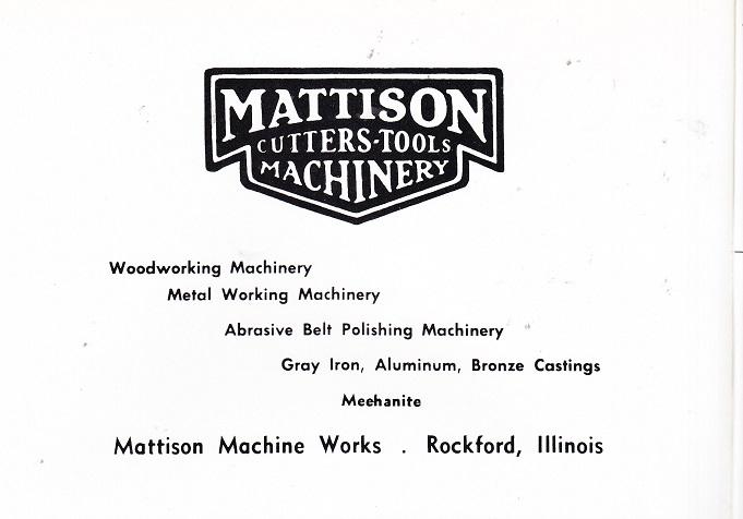 Mattison Machine Works