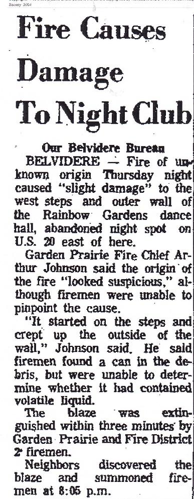 Rainbow Gardens Fire
